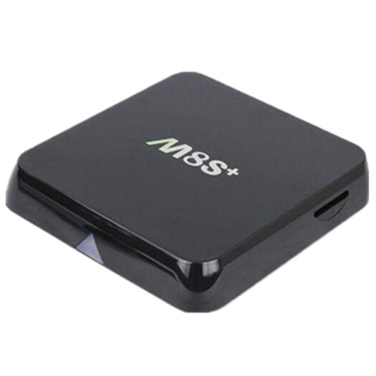 M8S +PLUS ANDROID TV BOX QUAD CORE AMLOGIC S812 CHIPSET 4K CPU SET TOP BOX