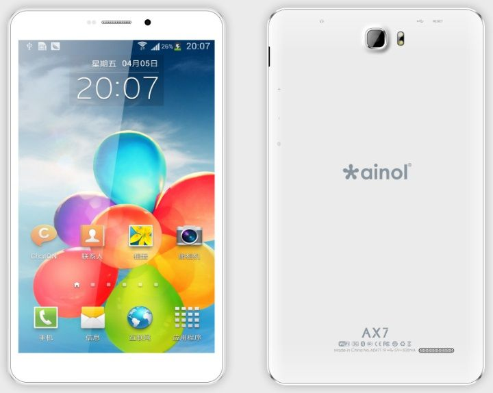 3G TABLET PC QUAD CORE 7 INCH AX7