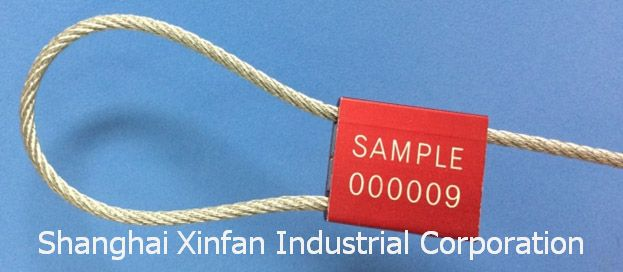 Tamper Proof Cable Security Seal Truck Seal Model No. NEW TSS-CF2.0T