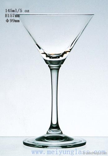 glass goblet cup