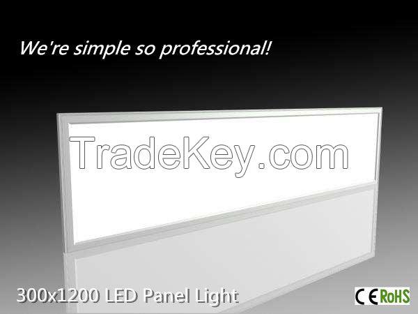 32W,3000LM, 300*1200 LED PANEL LIGHT 32W/36W/40W