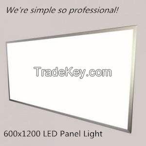 64W 600x1200 LED Panel Light 64W/72W
