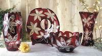 24%Pb Glass Vase