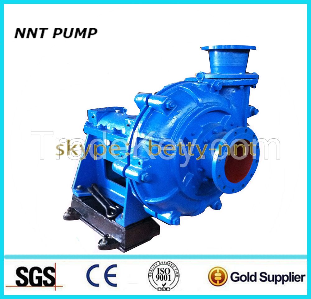 Mining and grinding mill Usage sand slurry pump