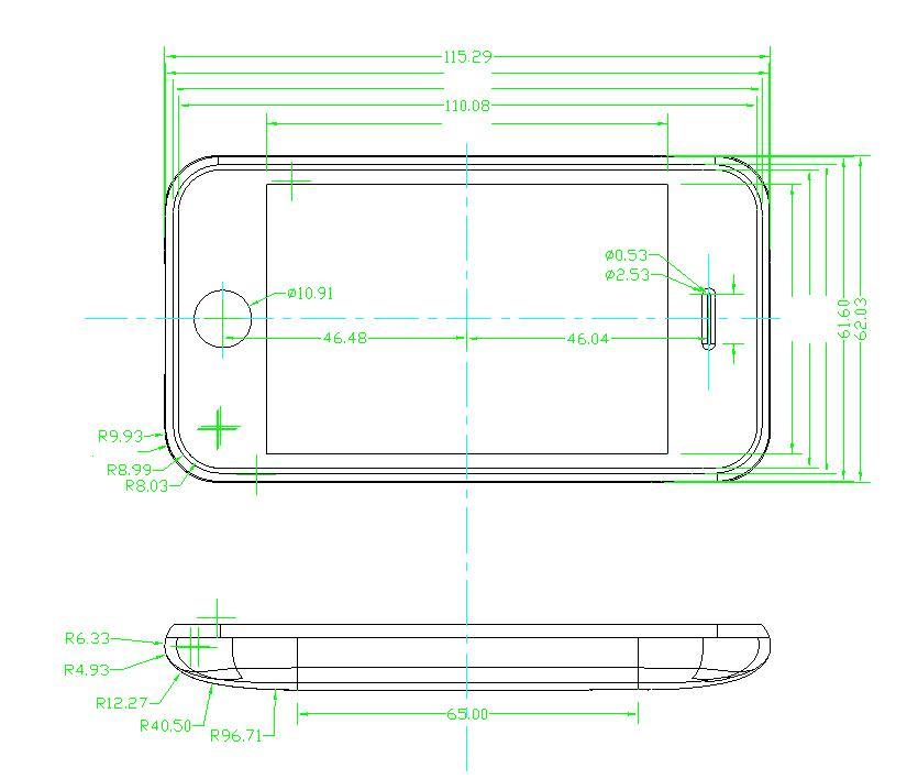 3G iphone case