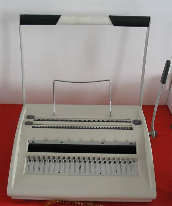 Comb And Wire binder