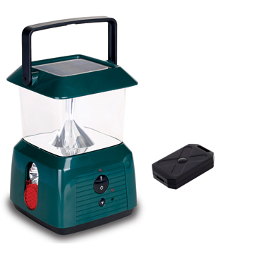 Remote Controlled Solar Lantern / Camping Light with Pest Dispeller