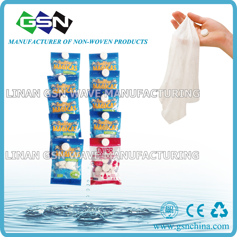 Magic Compressed Tissue, Customized Specifications Are Welcome, Suitable for Promotional