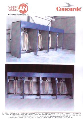 CHEMICAL PP SPRAY CABINETS