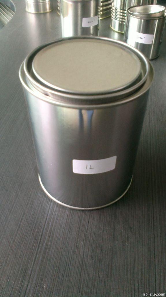 1L metal paint tin can