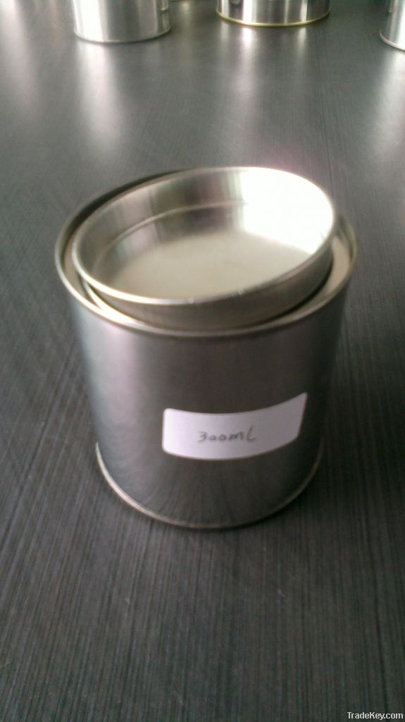 metal paint tin can with handle