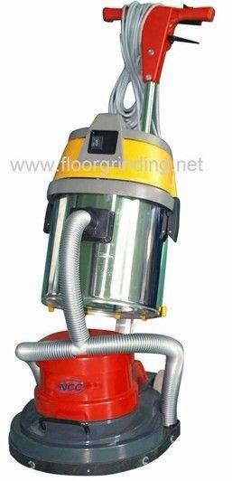 floor polisher with vacuum