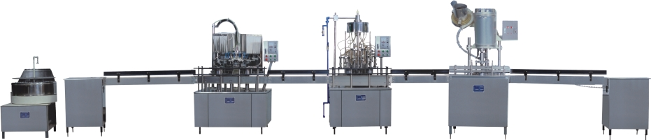 Automatic Water Filling Plants