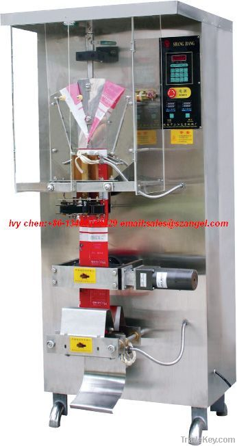 Liquid packing Machine with photocell monitoring AS-ZF1000