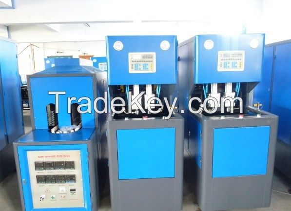 Semi-Automatic Bottle Blow Molding Machine 1600B/H CM-8Y