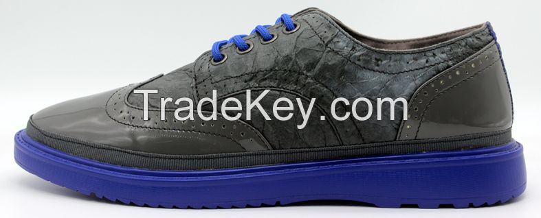 Men casual shoesFashion shoes in Grey color