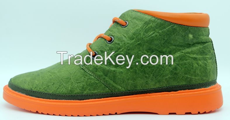 Men casual shoes Middle cutted Fashion shoes in Green color