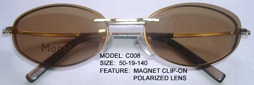 Magnetic Clip-On Frames
