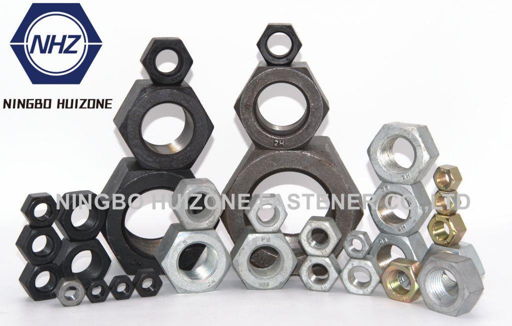 HEX NUT ASTM A194 A563 SAE J995 DIN 934 ISO4032