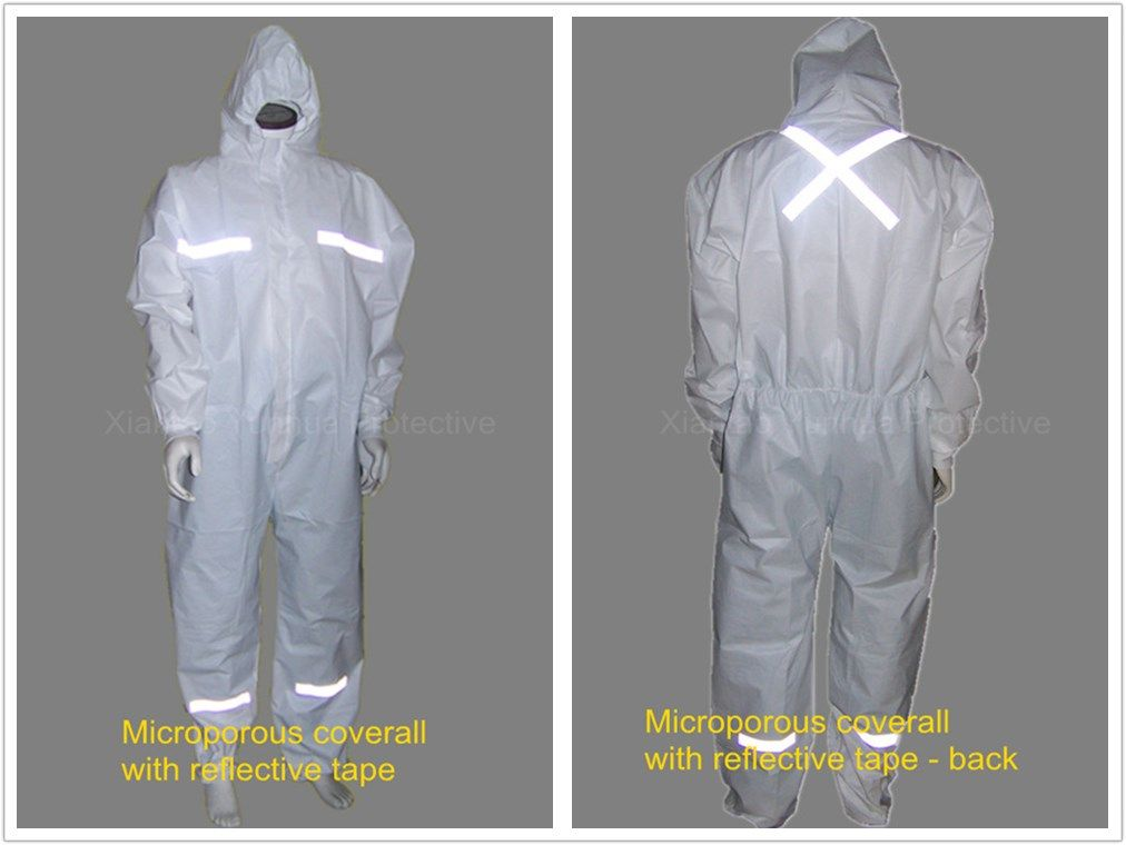 Microporous Coveralls