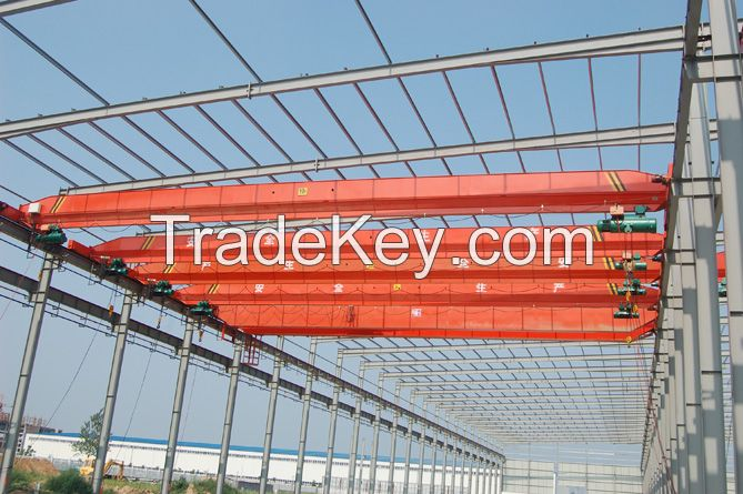 China manufacturer 1t electric overhead crane LD type