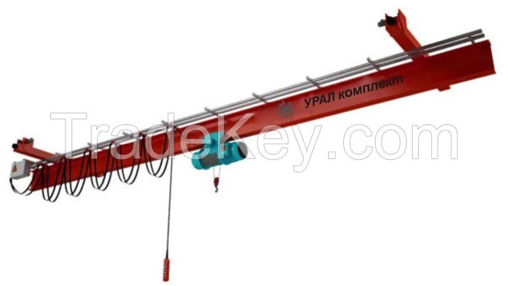 LX type 1t underslung travelling overhead cranes