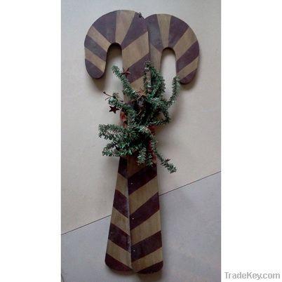 Wooden decorative cane