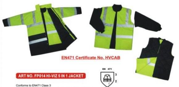 hi viz safety wear