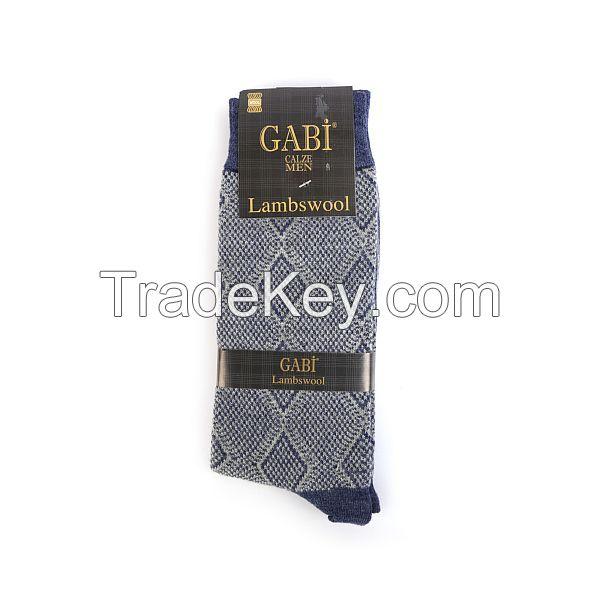 High Quality Men Lambswool Socks
