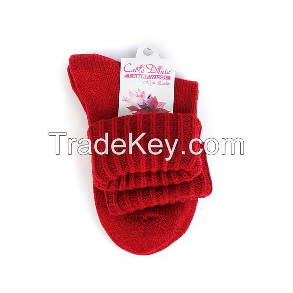 High Quality Women Lambswool Socks