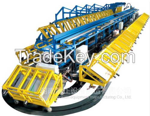car pu seat production line and foaming machine