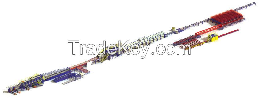 Sandwich Panel Production line for buiding material and roof