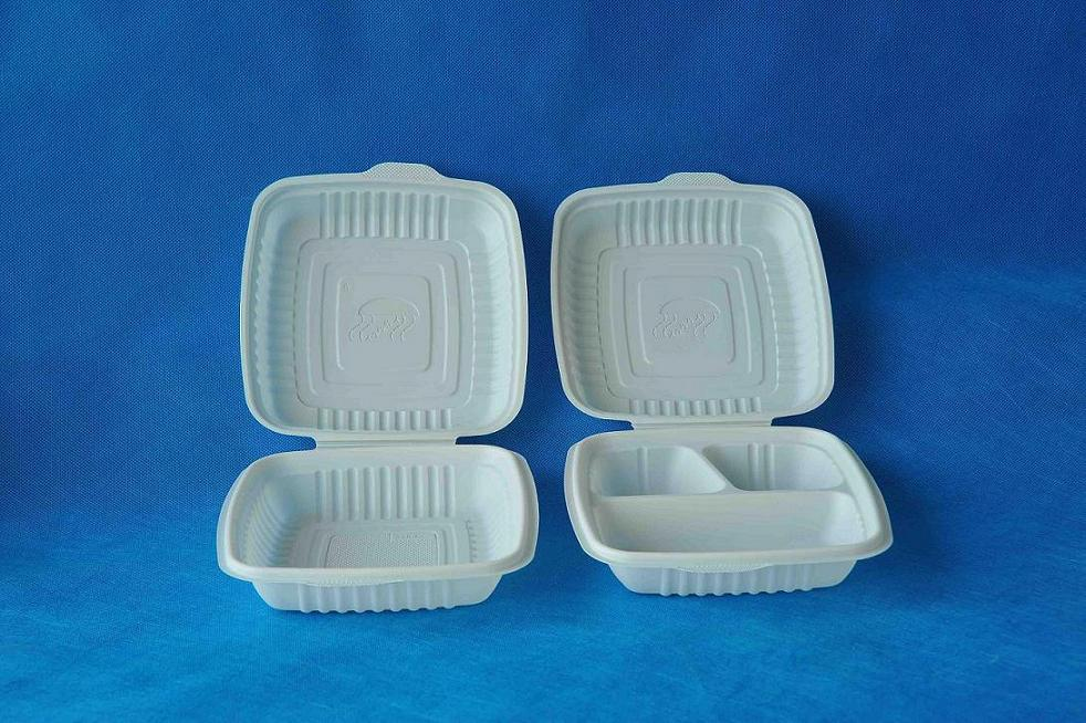 biodegradable corn starch lunch box