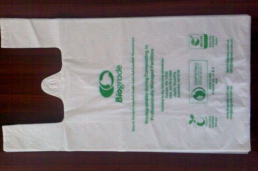 biodegradable and compostable bag, trash bag, garbage bag