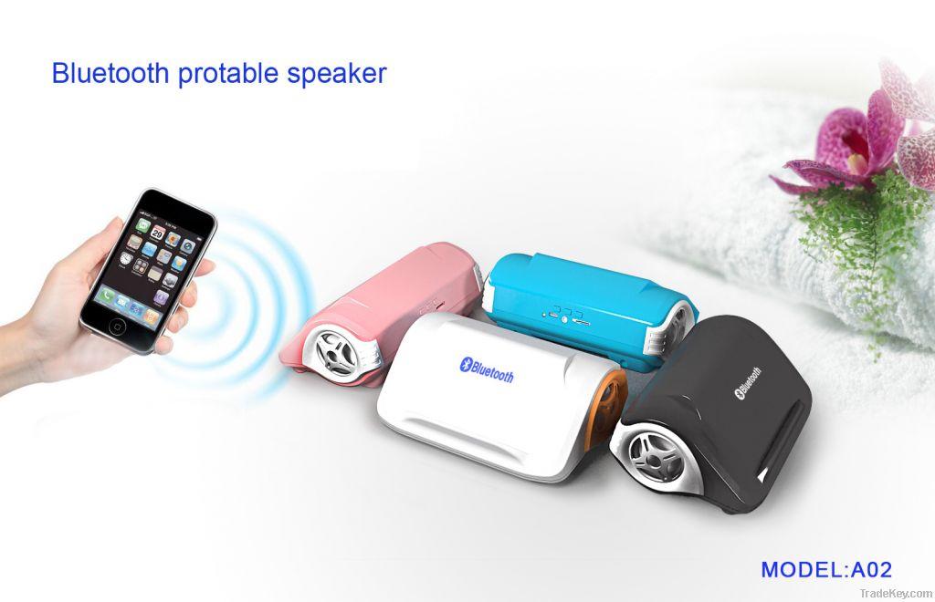 Bluetooth Mini Speaker Wireless Protable Speaker Desktop Mobile Phone Holder