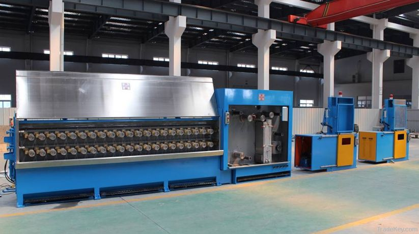 Mult iwire Drawing Machine with Annealing PRO-25DST (4 wires)