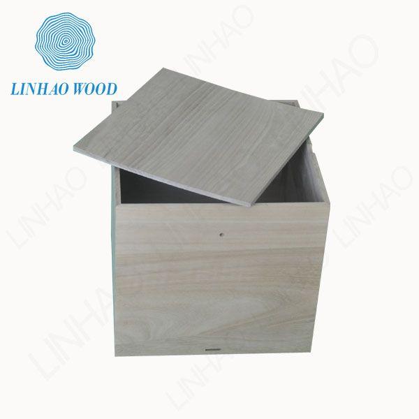 Paulownia wood box