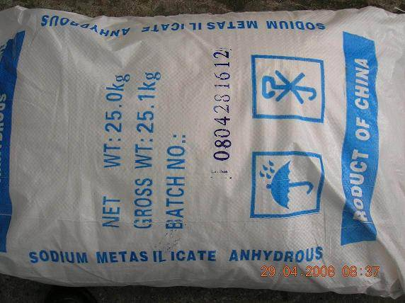 Sodium Metasilicate anhydrous
