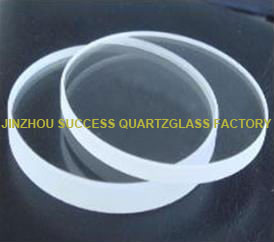 Transparent quartz plate