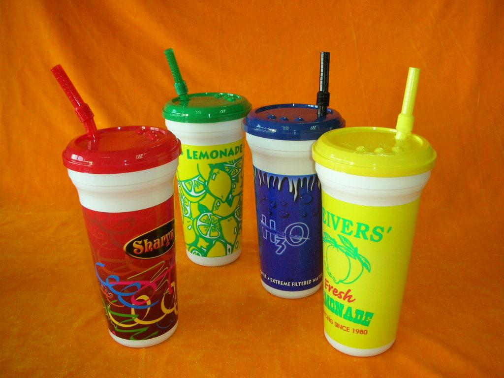 Plastic Souvenir Cup
