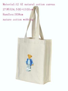 Canvas(cotton) shopping bag