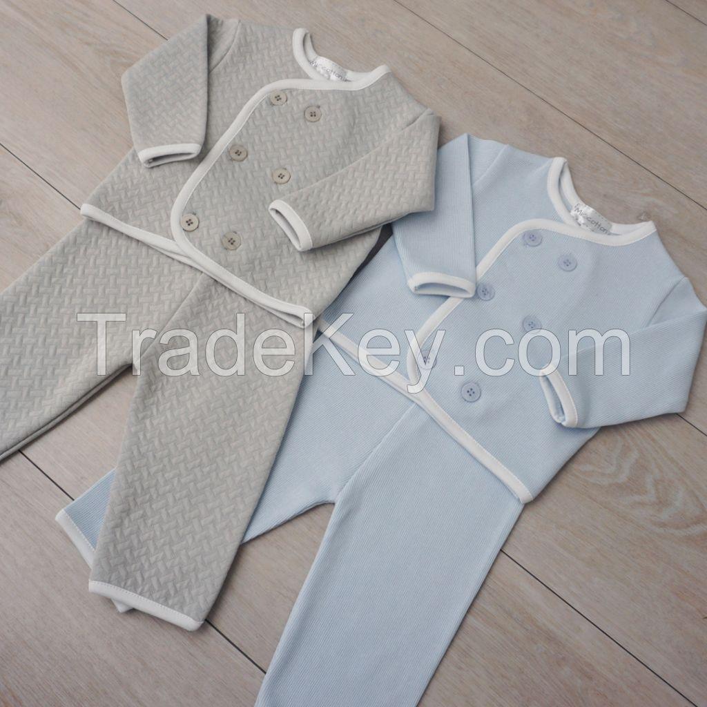 Peruvian Pima Cotton Baby Clothing Set Pima Cotton Baby Clothes Mio