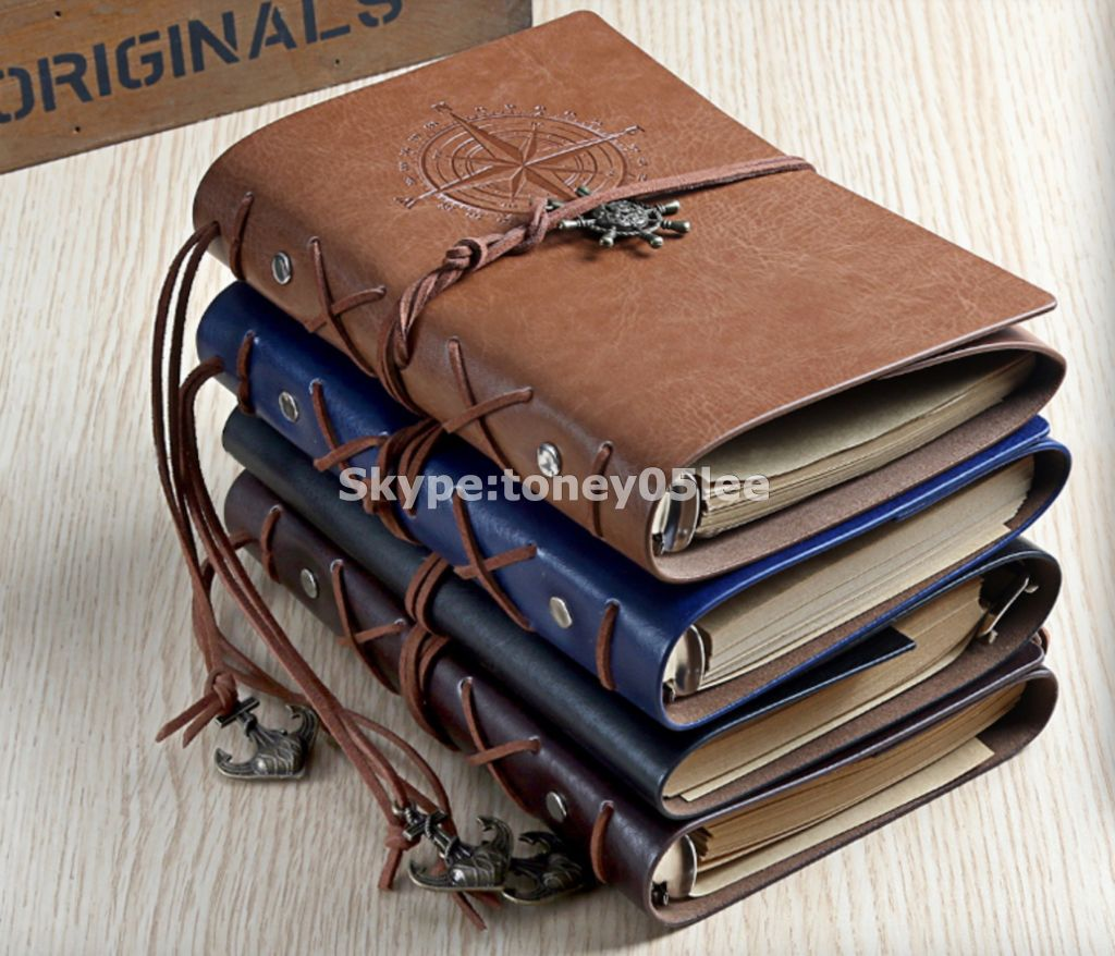 notebook, sprial notebook, leather Notebook with elastic band / ribbon / Pocket, 2016 fabric hardcover notebook, student stationery notebook