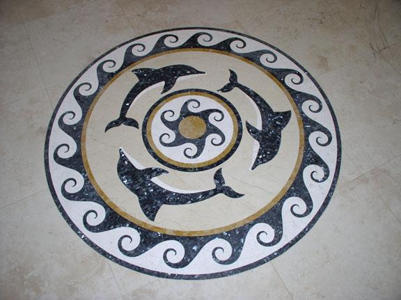 marvellous stone inlayed floor items