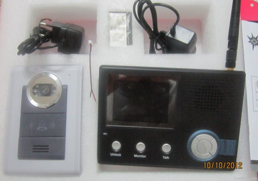Wireless Intercom Video Door Phone For Villa