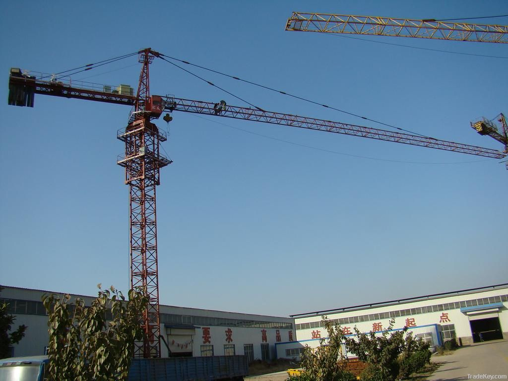 Supply, new, 55m, 1.3T, QTZ80(TC5513) Self-erecting Tower Crane