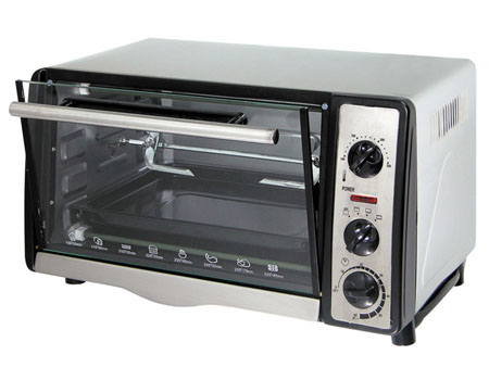 Electrical toaster oven and Electrical stove