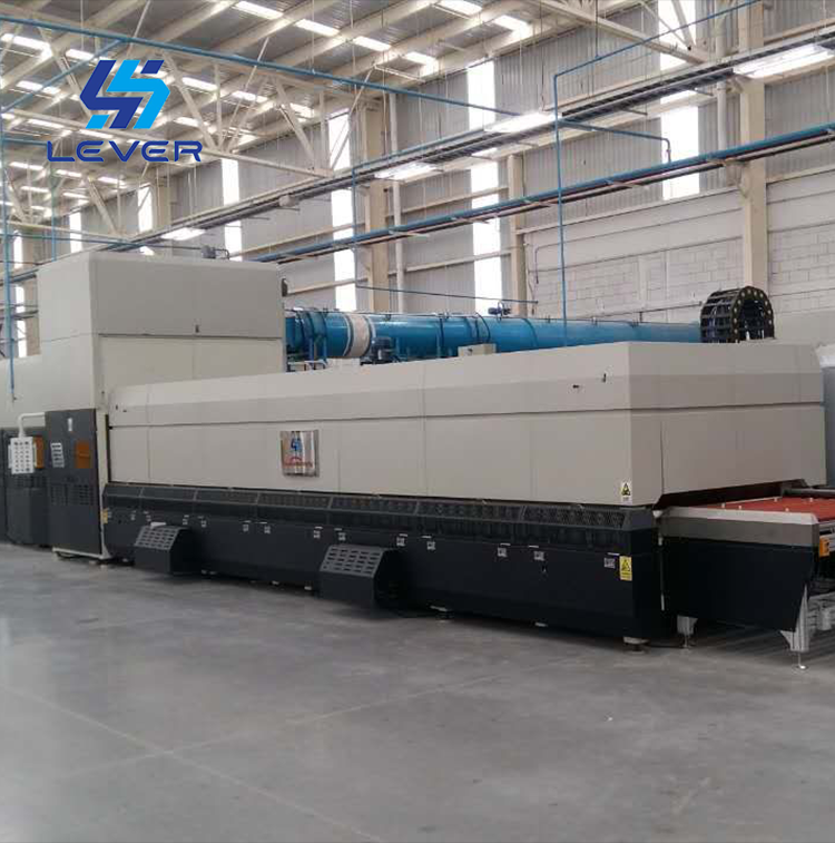 Continuous Bending Glass tempering furnace for auto sidelite glass