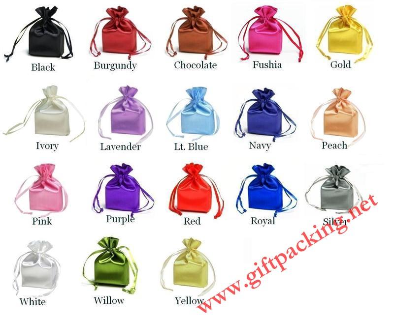 wholesale satin bag