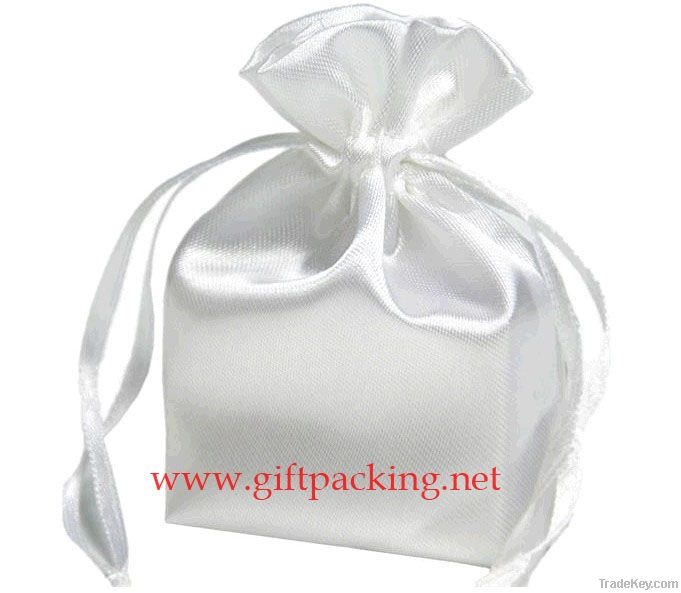 china cheap satin bags/gift packaging bags